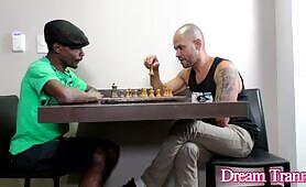 Two Guys Dick Down TS Bianca Meirelles